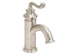 Rega Single Lever Faucet, Brushed Nickel