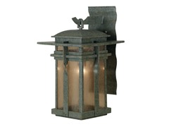 San Mateo Small Wall Lantern, Rust
