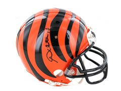Andy Dalton Signed Bengals Mini Helmet