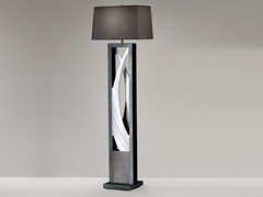Nova Lighting: Silver Wave Floor Lamp