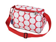 Wildkin Lunch Cooler - Big Dot Red