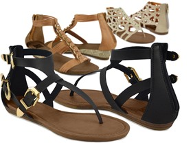 Muk Luk Women's Fashion Sandals-6 Styles