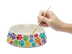 Personalzied Pet Bowl with Paints