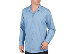 Long Sleeve, Two Pocket - Light Blue