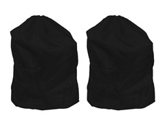 Set of 2 Laundry Bags - Black