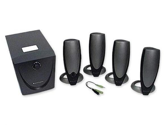 altec lansing ada745 95 watt 4 1 speaker set. Black Bedroom Furniture Sets. Home Design Ideas