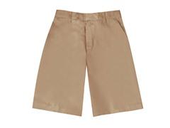 Boys Flat Front Short - Khaki (Sizes 4-16)