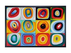Kandinsky - Farbstudie Quadrate