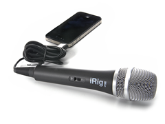 Handheld Mic for iOS Devices