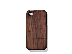 Walnut Solid Cover for iPhone 4/4S