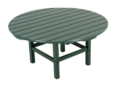 Round Conversation Table, Green
