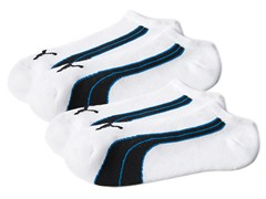 Puma Men's No-Show Socks 2-Pack - Navy