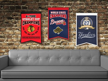 Champions Banners by Winning Streak