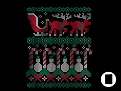 Ugly Holiday Sweater 2010 Greeting Cards