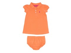 Orange Polo Dress (12M-4T)