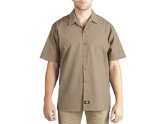 Short Sleeve, One-Pocket - Khaki (M)