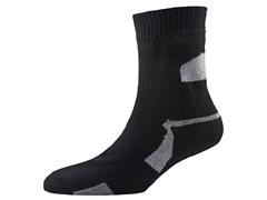 Thin Ankle Length Sock - Black/Grey