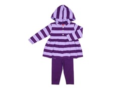 2-Pc Set Purple Tunic Legging Set (3-9M)
