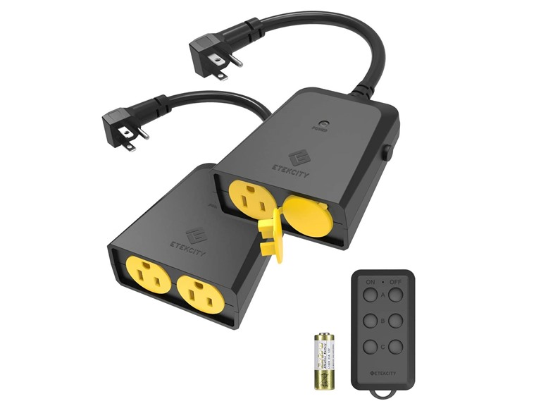 Outdoor Remote Control Outlet (2-Pack)