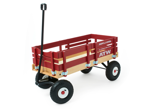 Radio Flyer All Terrain Wagon 29x Kids Amp Toys