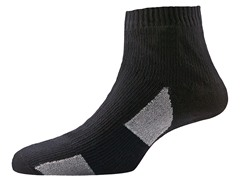 Thin Socklet - Black/Grey