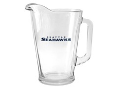 Seahawks Glass Pitcher
