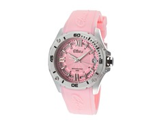 Elini Barokas Pink Silicone Ladies Watch