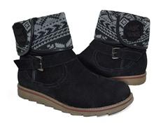 MUK LUKS® Women's Jess Short Boot, Black
