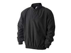 Supersoft Long-Sleeve Windshirt - Black