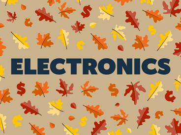 Electronics Fall-Tastic Deals!