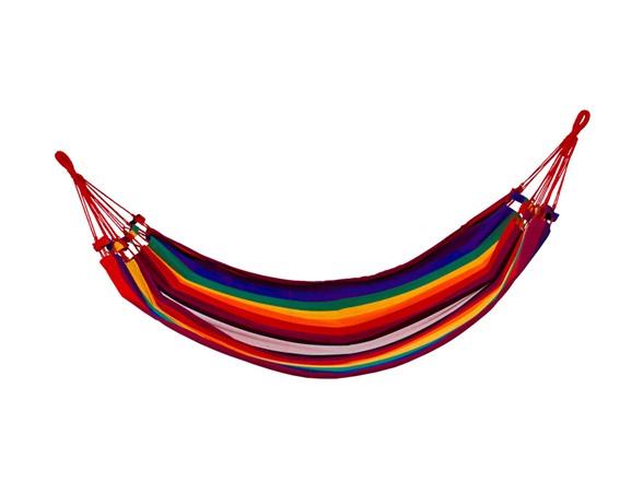 shop clevr hammock wide cotton double deal rainbow alert