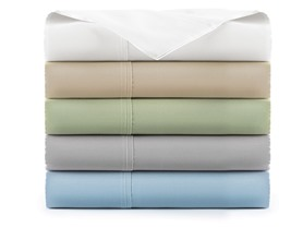 600TC 100% Pima Cotton Deep Pocket Sheet Set-5 Colors