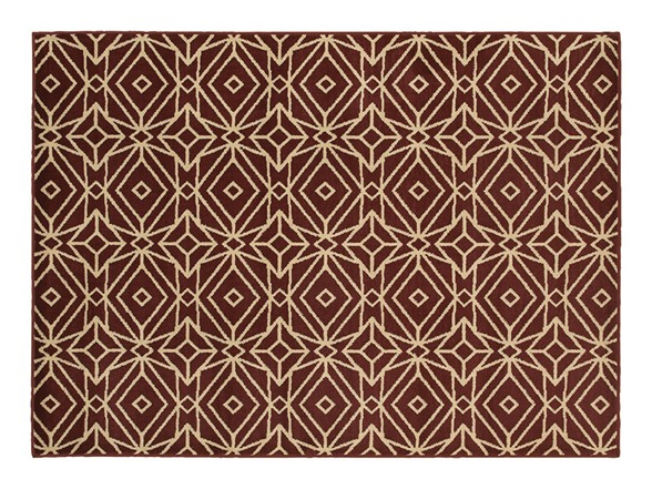 Sybil Red Indoor Area Rug Pick Size