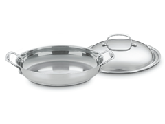 "Cuisinart 12"" Pan with Domed Lid"