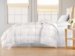Down Alternative Comforter-White-3 Sizes