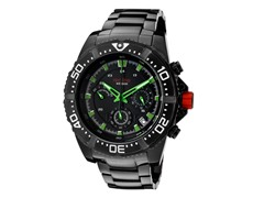 Racer Chronograph, Black / Green