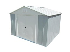 8' x 9' Steel Storage Shed