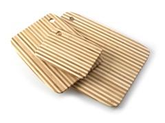 Core Bamboo Pinstripe Cutting Board Set
