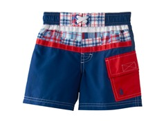 Swim Trunk - Navy (4-7)