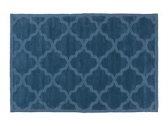 Navy Hand Woven Rug 4-Sizes
