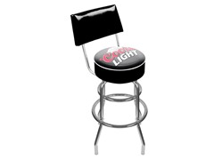 Coors Light Padded Bar Stool w/ Back