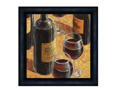 Wine Tasting Framed 30x30