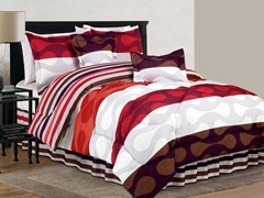 Donelly Reversible 6 Piece Comforter Set- 2 Sizes