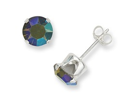 Sterling Silver Swarovski Elements Studs- Pick Color