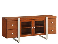 "Homelegance Metro 62"" Cherry TV Console"