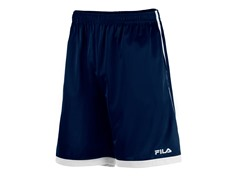Athlete's Training Shorts, Navy/White
