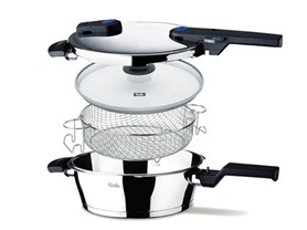 Fissler Pressure Cookers - 3 Styles