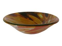 Double Layer Glass Vessel Sink