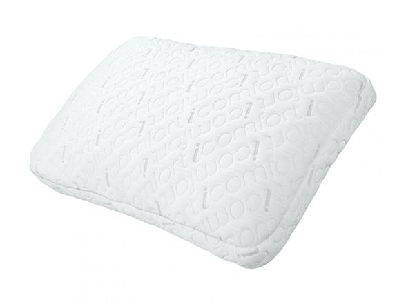 Serta Icomfort 2 In 1 Scrunch Gel Memory Foam Pillow 2 Sizes