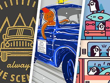 Derby Editor's Choice T-Shirts: Road Trip